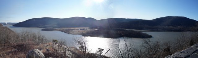 Hudson River, seen from Route 6/202