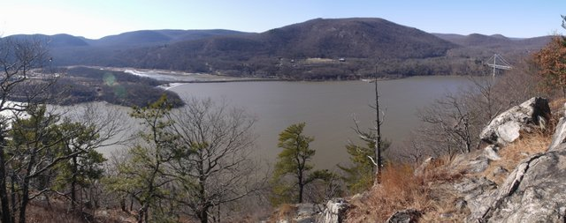 Hudson River, from Camp Smith Trail, Hudson Highlands State Park, NY