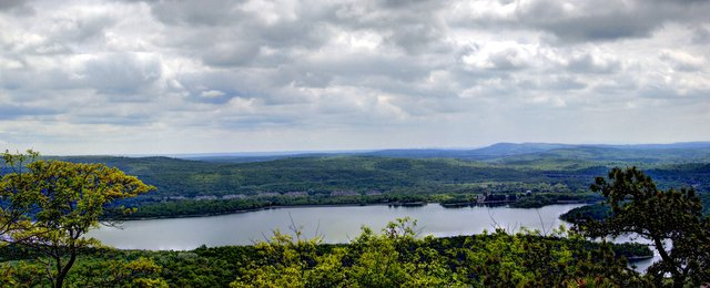 Wanaque Reservoir, from Wyanockie High Point, Norvin Green State Forest, NJ