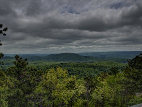 View from Wyanockie High Point, Norvin Green State Forest, NJ