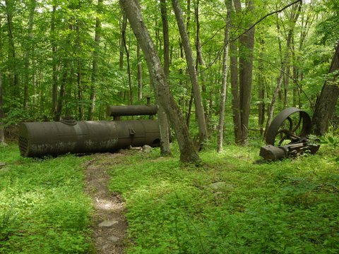 Portable Sawmill, Devil's Den Preserve, Fairfield, CT