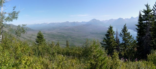 View from Apgar Lookout Trail, Glacier National Park, Montana