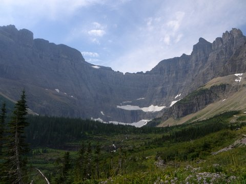 Iceberg Lake Trail, Glacier National Park, Montana