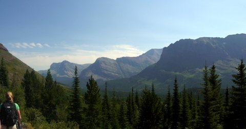 Ptarmigan Trail, Glacier National Park, Montana