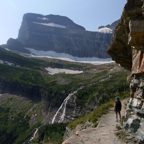 Grinnell Falls, Glacier National Park, Montana