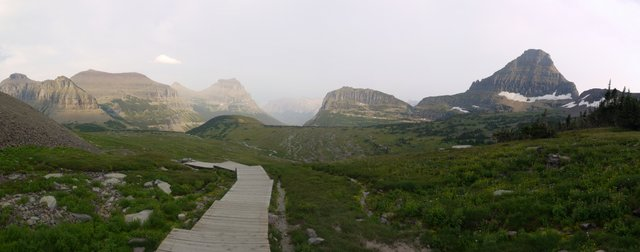 Hidden Lake Trail and Heavy Runner Mountain, Glacier National Park, Montana