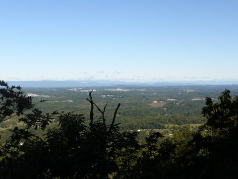 View to the North, from the Mine Hill Trail, Black Rock Forest, Orange County, New York
