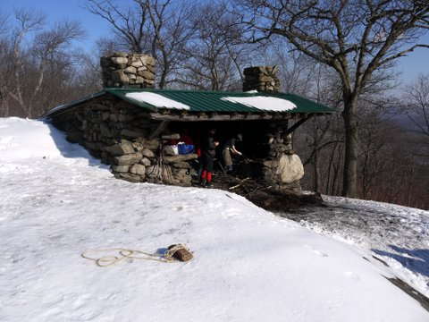 Stockbridge Shelter, Harriman State Park, NY