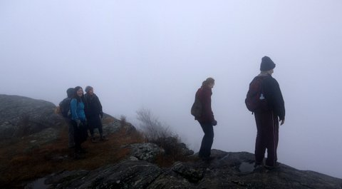 The Timp on a Foggy Day, Harriman State Park, NY