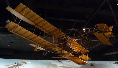 Herring-Curtiss No. 1 Golden Flyer, 1909 (replica)