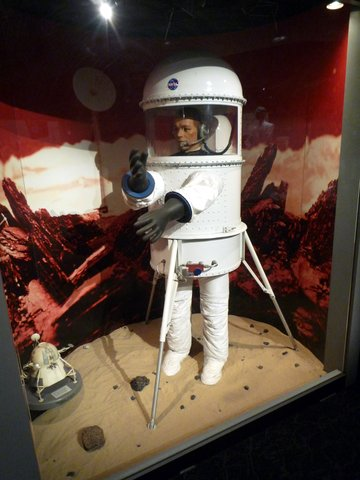 Lunar Exploration Spacesuit, 1960