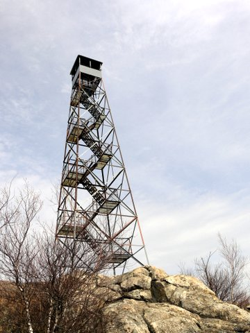 Fire Tower on South Beacon Mountain, NY