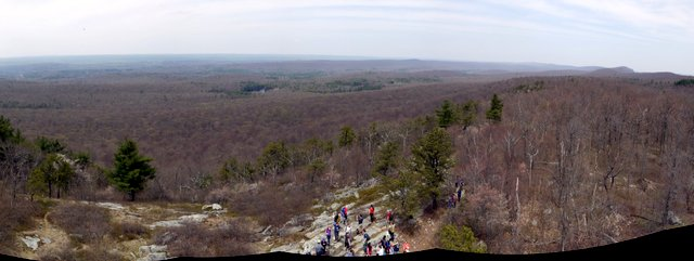 View from Fire Tower on Kittatinny Ridge, Stokes State Forest, NJ