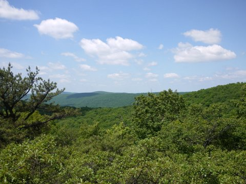 View from the Highlands Trail, Sterling Forest State Park, Orange County, NY