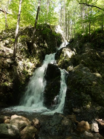 Fitzgerald Falls, Appalachian Trail, Orange County, NY