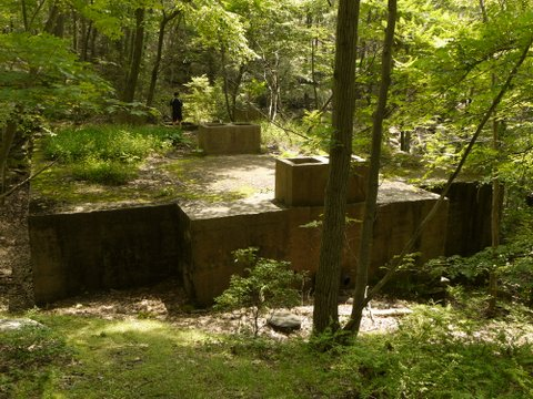 Abandoned septic tank, Harriman State Park, Rockland County, NY