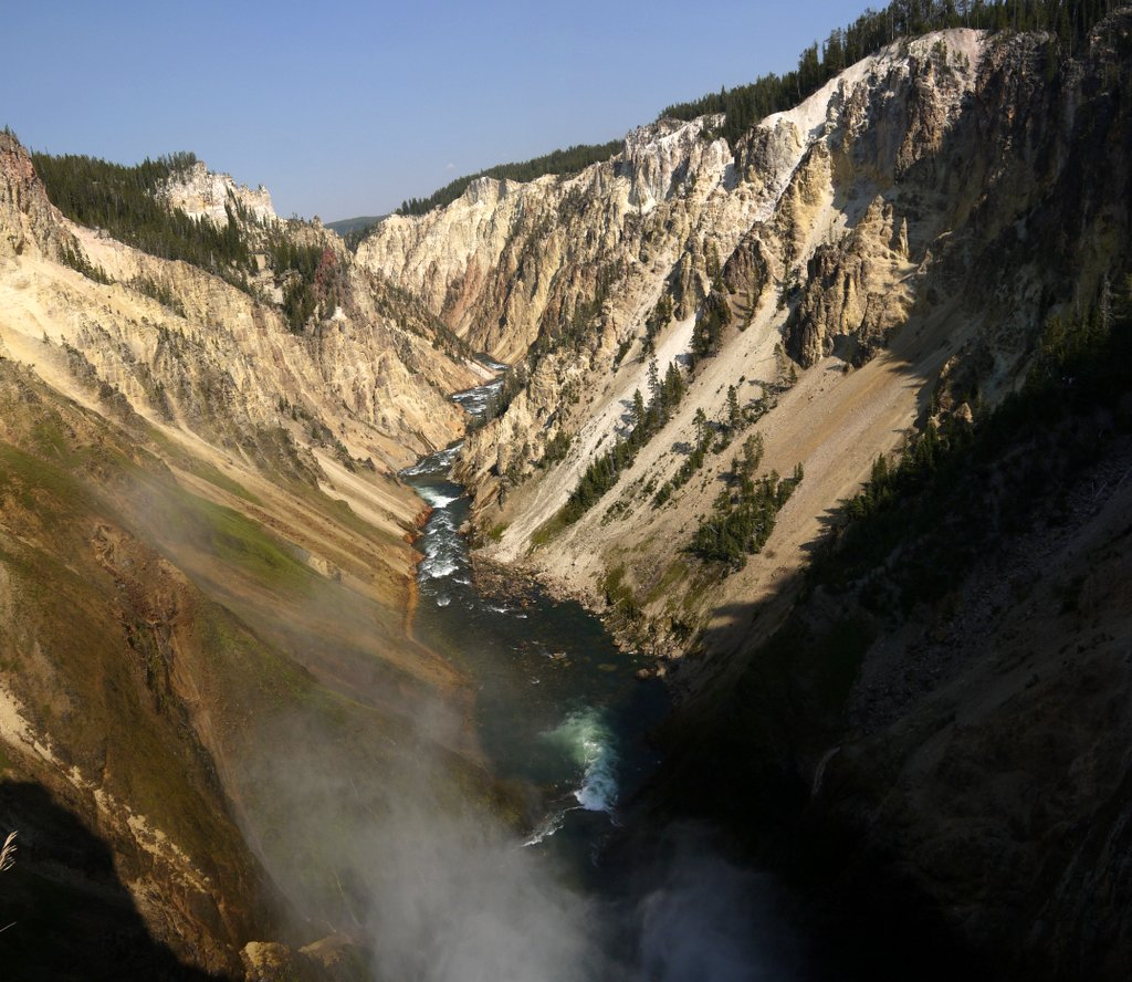 Grand Canyon of Yellowstone, Yellowstone National Park, Wyoming