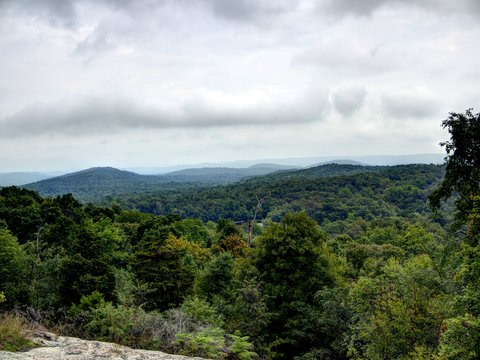 View from Overlook Rock, Norvin Green State Forest, NJ
