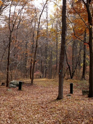 Hall Road Gate, Black Rock Forest, Orange County, New York