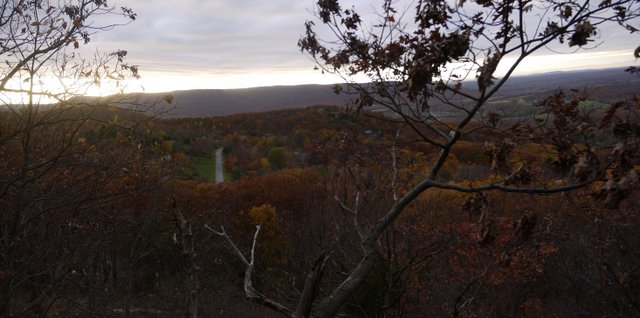 View from Mine Hill Trail, Black Rock Forest, Orange County, New York