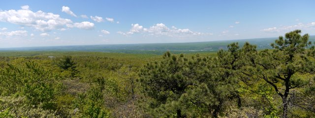 View from Monument Trail, High Point State Park, Sussex County, New Jersey