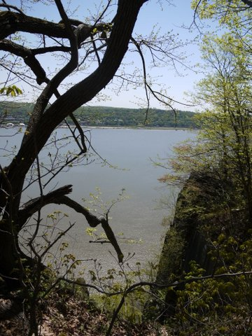 Hudson River from Palisades, Palisades Interstate Park, Bergen County, New Jersey