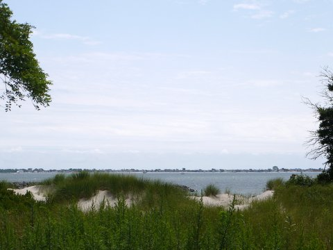 Rockaway Inlet from Shore Parkway, Brooklyn, Kings County, New York