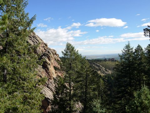 Scenery on the Bear Canyon trail, Boulder Mountain Park, Boulder, Colorado