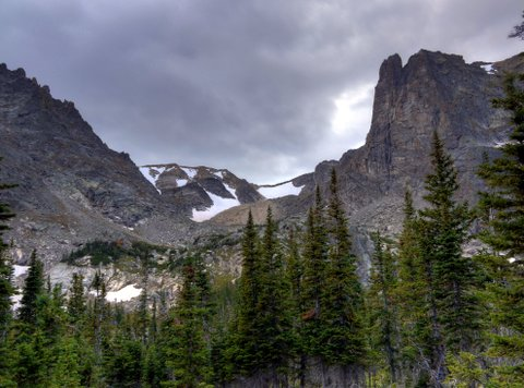 Notchtop Mountain, Rocky Mountain National Park, Colorado