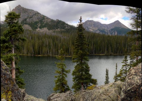 Fern Lake, Rocky Mountain National Park, Colorado