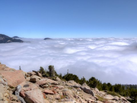 View from Rainbow Curve, Rocky Mountain National Park, Colorado