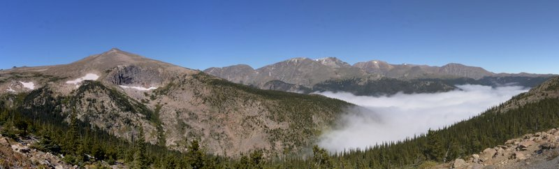 View from Forest Canyon Overlook, Rocky Mountain National Park, Colorado