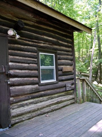 Cabin at Camp Glen Gray, Bergen County, New Jersey
