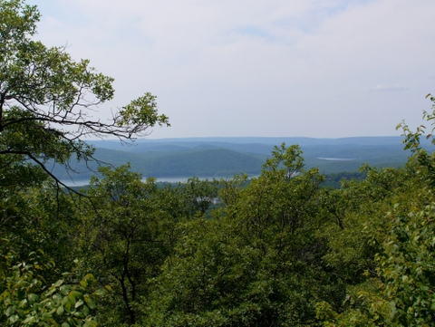 View from the Erskine Lookout, Ramapo Mountain State Forest, Bergen & Passaic Counties, New Jersey