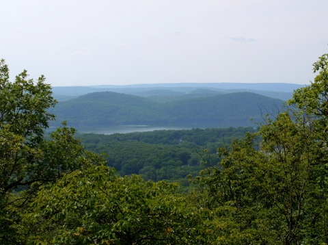 Scenic view, Ramapo Mountain State Forest, Bergen & Passaic Counties, New Jersey