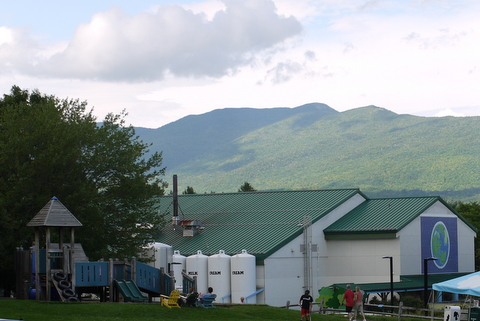 Exterior, Ben & Jerry's Factory, Waterbury, Washington County, Vermont