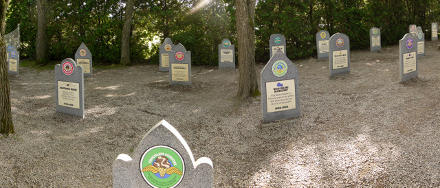 Flavor graveyard, Ben & Jerry's Factory, Waterbury, Washington County, Vermont