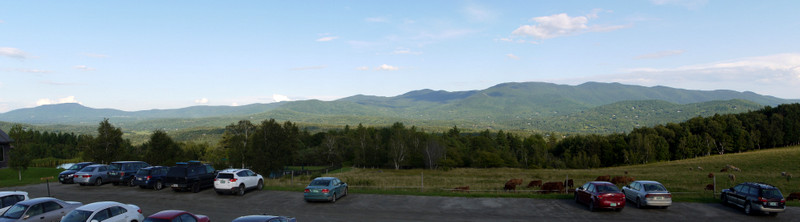 View from Trapp Family Lodge, Stowe, Lamoille County, Vermont