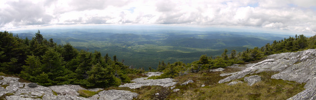 Panorama, Mt. Mansfield, Chittenden County, Vermont