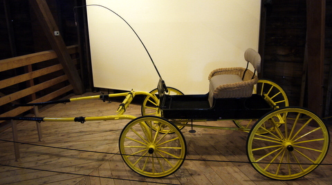 1875 Pony runabout, Shelburne Museum, Shelburne, Chittenden County, Vermont