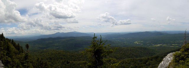 View from Laraway Lookout, Laraway Mountain, Long Trail State Forest, Lamoille County, Vermont