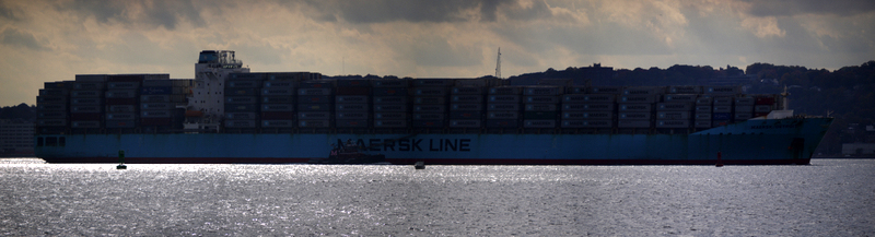 Maersk Detroit Container Ship