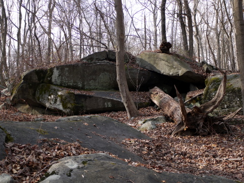 Boulders, Sourland Mountain Preserve, Somerset County, New Jersey