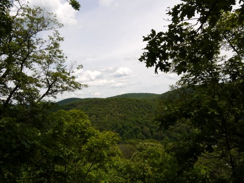 Scenic View from Appalachian Trail, Harriman State Park, Orange County, New York