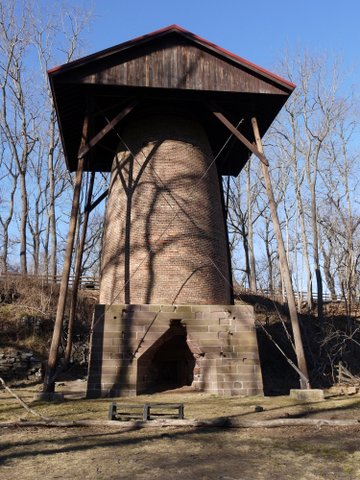 Blast furnace, Allaire State Park, Monmouth County, New Jersey