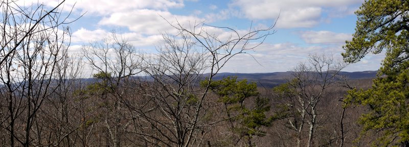 Scenic view, Ramapo Mountain State Park, Bergen & Passaic Counties, New Jersey