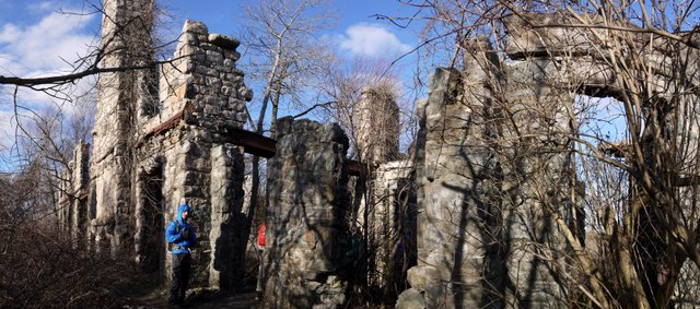 Slyke Castle Ruins, Ramapo Mountain State Park, Bergen & Passaic Counties, New Jersey