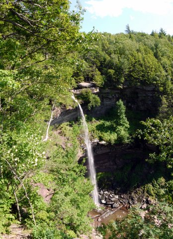Kaaterskill Falls, Kaaterskill Wild Forest, Greene County, New York