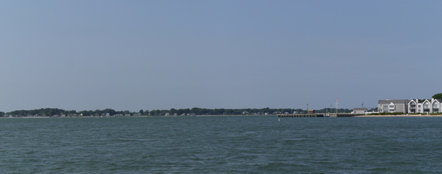 Crossing the Peconic River from Greenport to Shelter Island, Suffolk County, New York