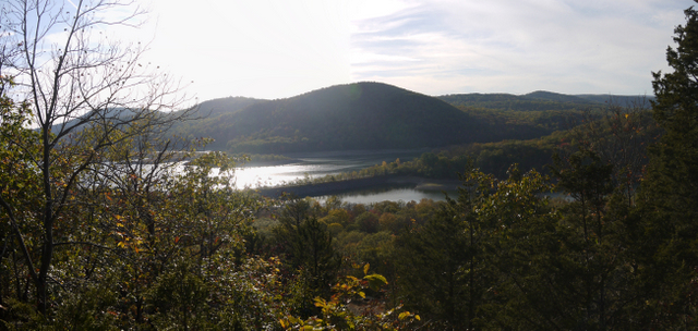 View of Board Mountain from Governor Mountain, Ringwood State Park, Passaic County, New Jersey